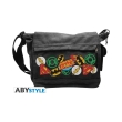 dc comics messenger bag justice league logos big size photo