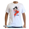 dragon ball t shirt db goku young man ss white l photo
