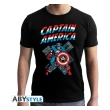 marvel t shirt ca vintage man ss black new fit l photo