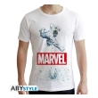 marvel tshirt marvel hulk man ss white new fit l photo