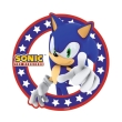 sonic mousepad modern sonic in shape photo