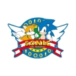 sonic mousepad opening logo in shape photo