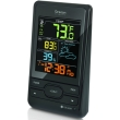 oregon scientific bar206s wireless weather forecast temperature station color lcd screen photo