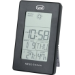 trevi me3104 weather station with clock black photo