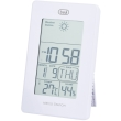 trevi me3104 weather station with clock white photo