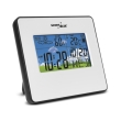 greenblue gb148w weather station clock moon calendar white photo