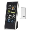 greenblue gb520 wireless weather station dcf pressure moon phase usb charger black photo