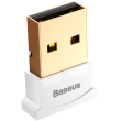 baseus bluetooth adapter 40 white photo