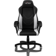 gaming chair nitro concepts c100 black white photo