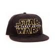 star wars vii the force awakens logo black snap back cap photo