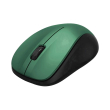 hama 182625 mw 300 optical wireless mouse 3 buttons blue green photo