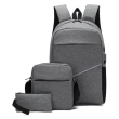blaupunkt set 3 in 1 adiabroxo backpack tsantaki portofoli gkri photo