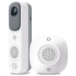 chuango wdb 80 smart video doorbell chime kit photo