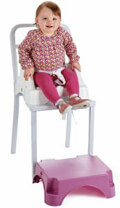 kathisma fagitoy thermobaby gia karekla edgar booster seat with step orchid pink mob extra photo 3