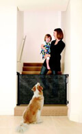 ptyssomeni porta asfaleias dreambaby retractable gate black 0 140cm f943 extra photo 3