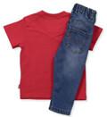set t shirt jeans levi s nl36004 099 mple kokkino gift box 70ek 9 12 minon extra photo 1