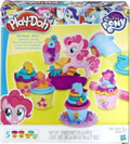 plastozymaraki playdoh hasbro pony pinkie pie cupcake party b9324 extra photo 1
