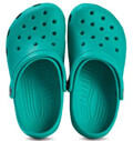 paidiki sagionara crocs classic clog tropical teal eu 24 25 extra photo 1