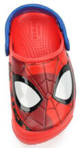 paidiki sagionara crocs funlab spiderman light clogs k flame eu 19 20 extra photo 2