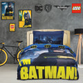 set paplomatothiki das home batman 5003 mple 2tmx bambaki 160x240cm extra photo 1
