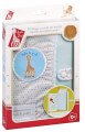 kalymma bibliarioy ygeias sofi sofie the giraffe health booklet cover 26x17cm 1tmx extra photo 3