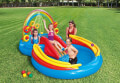 paidiki pisina paidotopos oyranio toxo intex rainbow ring play center 297x193x135cm 57453 extra photo 1