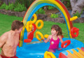 paidiki pisina paidotopos oyranio toxo intex rainbow ring play center 297x193x135cm 57453 extra photo 2