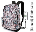 sakidio platis dimotikoy karactermania classic minnie gray hs backpack drawing 44x30x20cm extra photo 2