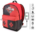 sakidio platis gymnasioy karactermania harley quinn multicolored hs backpack puddin 44x30x20cm extra photo 2