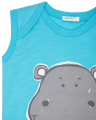 amaniko t shirt benetton jungle baby boy tirkoyaz extra photo 1