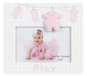 korniza mdf photo frames baby roz 15x10cm photo