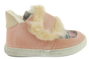 dermatina sneakers babywalker dusty pink roz photo