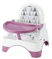 kathisma fagitoy thermobaby gia karekla edgar booster seat with step orchid pink mob photo