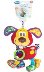 kremasto paixnidi playgro gia karotsi activity friend pooky puppy 0m  photo