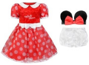 apokriatiki stoli travis minnie mouse kokkino poya photo