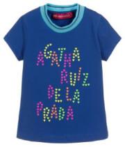 t shirt agatha ruiz de la prada conceptual blue royal mple 104ek 4eton photo