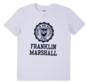 t shirt franklin marshall brand logo fms0060 leyko photo