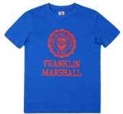 t shirt franklin marshall brand logo fms0060 mple photo