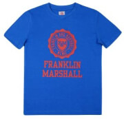 t shirt franklin marshall brand logo fms0060 mple 140ek 10 11 eton photo