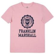 t shirt franklin marshall brand logo fms0060 roz 128ek 7 8 eton photo