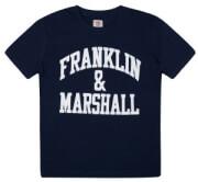 t shirt franklin marshall fms0097 skoyro mple 122ek 6 7 eton photo