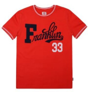 t shirt franklin marshall fms0069 10044 kokkino 122ek 6 7 eton photo