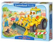 pazl castorland bulldozer in action 20tmx photo