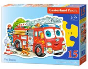 pazl castorland fire engine 15tmx photo