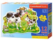 pazl castorland cows on a meadow 12tmx photo