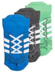 kaltses adidas performance ankle socks 3p mple gkri prasines 27 30 photo