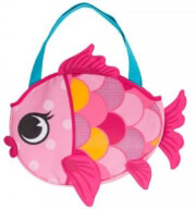 tsanta thalassis me paixnidia stephen joseph beach tote pink fish photo