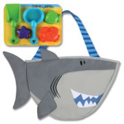 tsanta thalassis me paixnidia stephen joseph beach tote shark photo