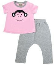 set keen organic wwf baby set monkey roz gkri 12 18 minon photo