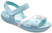 paidika sandalia crocs lina frozen sandal k ice blue eu 23 24 photo